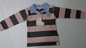 Playera Polo Rayas